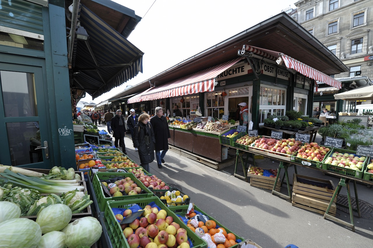 Венский рынок Нашмарк обеспечивает столицу и ее гостей первоклассными свежими продуктами