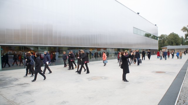 Delegates head to Garage Museum of Contemporary Art