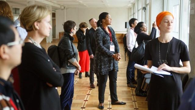 Delegates visit ZIL Cultural Center