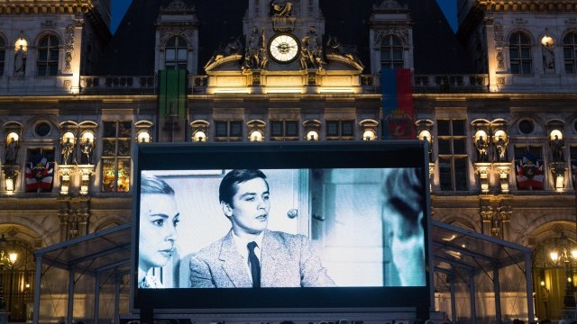 74th Anniversary of the Liberation of Paris: giant outdoor screening of