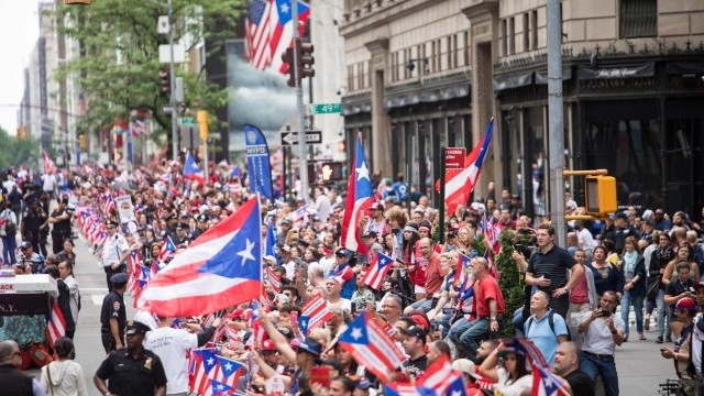 Puerto Rican Day Parade  Photo © Benjamin Kanter courtesy of NYC Department of Cultural Affairs