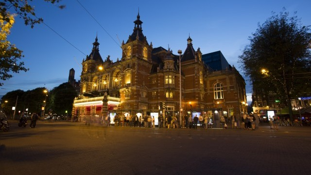 Amsterdam Stadsschouwburg by NightAmsterdam © Klapfilm.nl, courtesy of Amsterdam Marketing