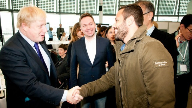 Boris Johnson, Mayor of London; Vladimir Filippov, Deputy Head, Moscow Department of Culture; Marcelo Calero, Secretary of Culture, Municipality of Rio de Janeiro