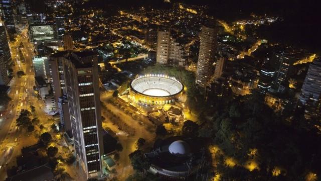 Bogotá by night © Carlos Lema. Courtesy of SCRD/Invest in Bogotá