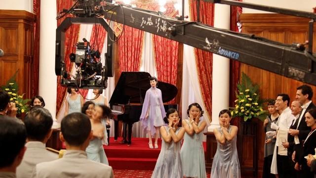 Film shooting for  Twa-Tiu-Tiann Courtesy of Department of Cultural Affairs, Taipei City Government