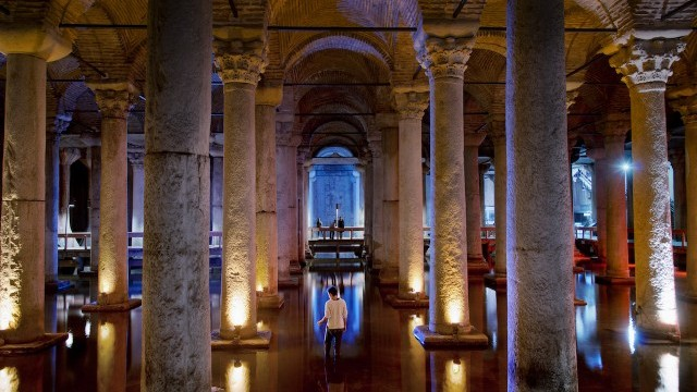 Basilica Cistern Courtesy of Istanbul Directorate of Culture and Tourism