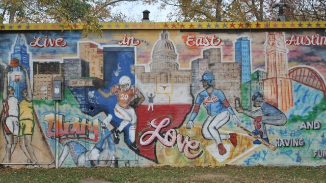 Metz Pool Mural; courtesy of City of Austin