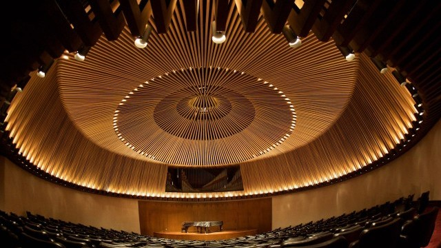 Auditorio Fabio Lozano Photo © Carlos Lema. Courtesy of Secretary Office of Culture, Leisure and Sport, City of Bogotá