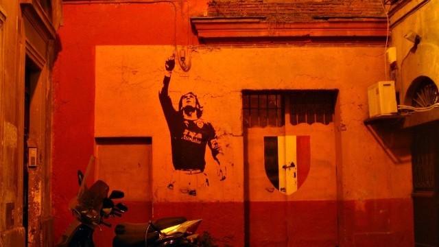 Graffiti Photo © Antonio Majaharati. Courtesy of the City of Rome