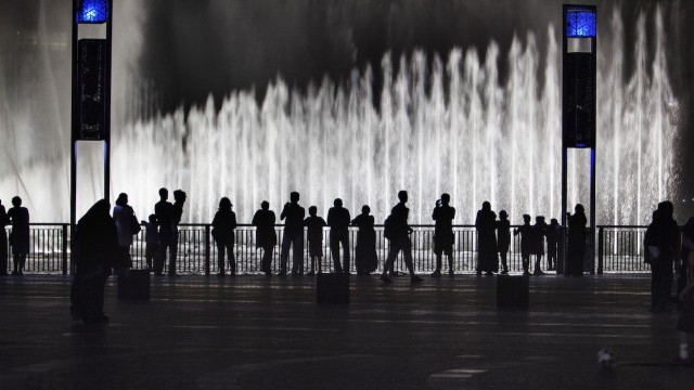 Dubai fountain Courtesy of Dubai Arts and Culture Authority