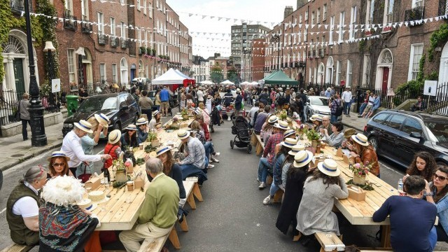Bloomsday Streetfeast  Courtesy of Dublin City Council