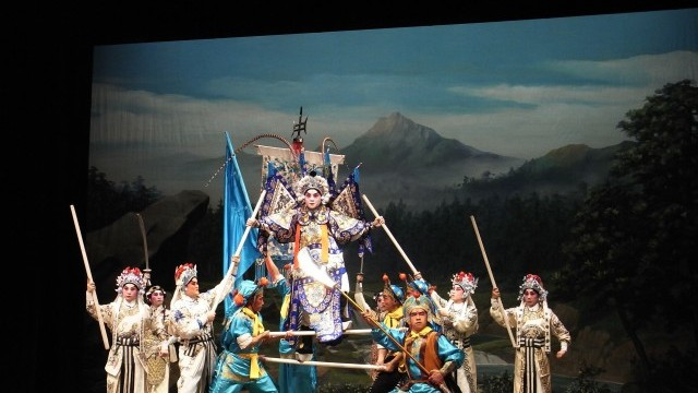 Cantonese Opera Courtesy of the Chinese Artists Association of Hong Kong