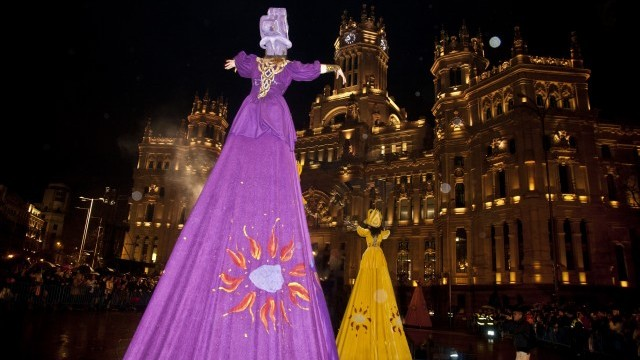 Carnaval en Cibeles © Verónica P. Granado, courtesy of Madrid City Council