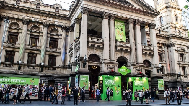 Comedy Festival, Melbourne Town Hall Courtesy of City of Melbourne