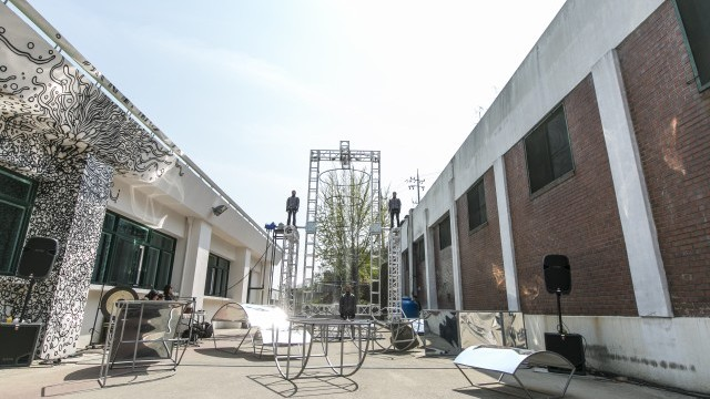 Seoul Street Art Creation Centre Photo courtesy of Seoul Foundation for Arts and Culture