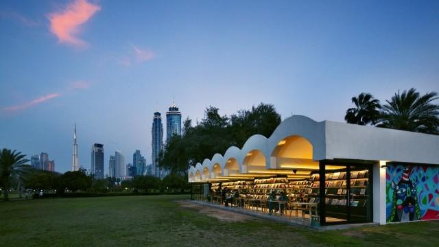 The Archive Café, Safa Park Courtesy of Dubai Arts and Culture Authority