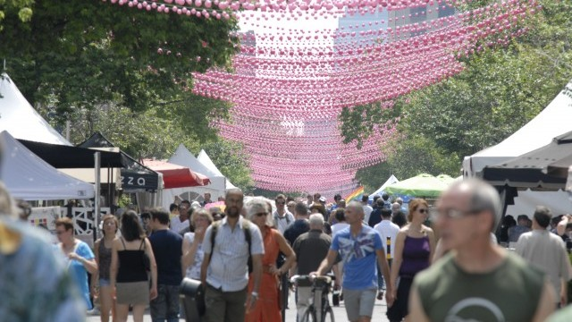Aires Libres 2011, Gay Village Photo © Carl Ethier, Courtesy of Ville de Montréal
