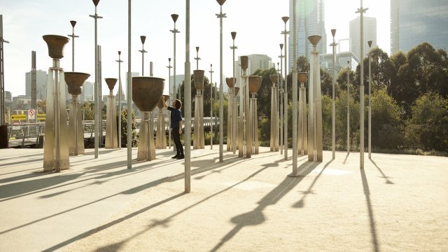 Federation Bells by Birrarung Marr Courtesy of City of Melbourne