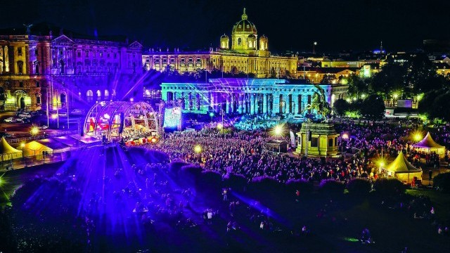 Fest der Freude 2015, Heldenplatz. Courtesy of City of Vienna