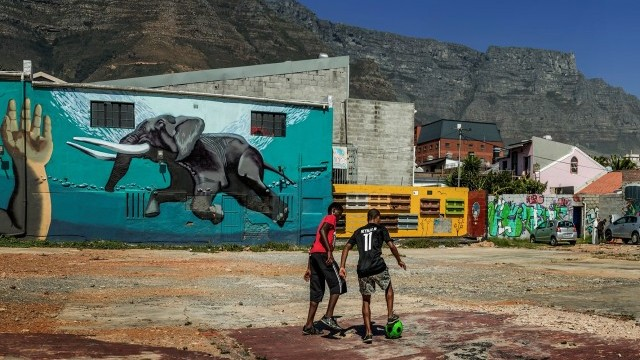 Fun and Graffiti  Courtesy of The City of Cape Town