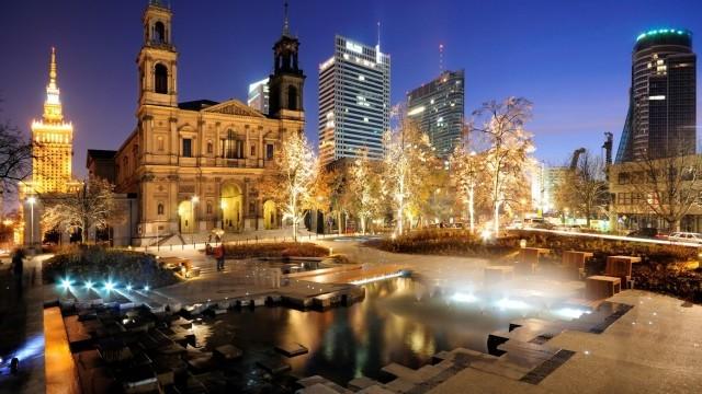 Grzybowski Square Photo © Zbigniew. Courtesy of City of Warsaw