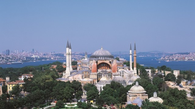 Hagia Sophia Museum Photo © Güngör Özsoy, Courtesy of Istanbul Directorate of Culture and Tourism