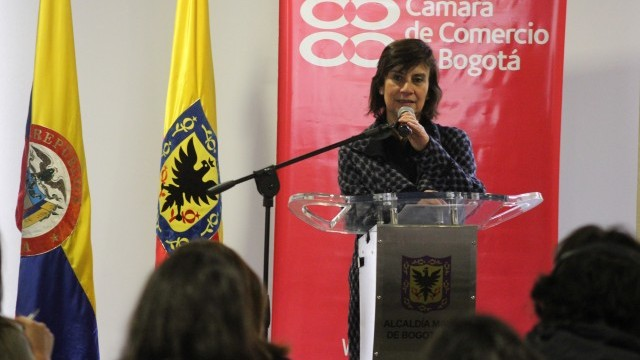 Clarisa Ruiz Correal, Secretary of Culture, Leisure and Sport Department, City of Bogotá