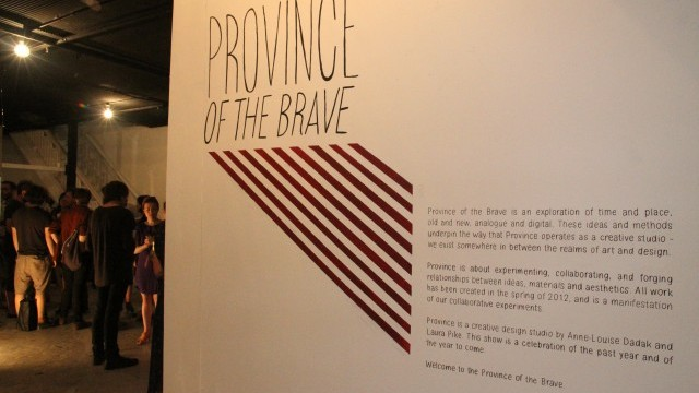 Province of the Brave by Laura Pike  and Annie-Louise Dadak. Courtesy of City of Sydney.