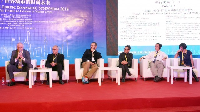 (From left to right) John Howkins,Hans-Georg Knopp, Andrew Tucker, Terence Chu, Yuanpu Jin, Qingqing Yang