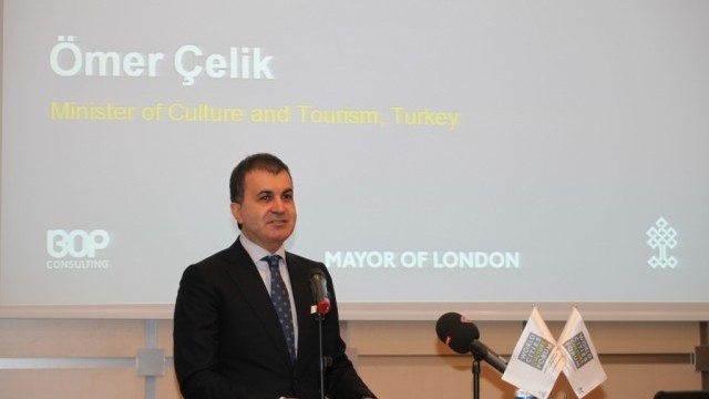 Ömer Çelik, Minister of Culture, Turkey