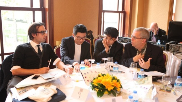 Araf Ahmadali, Policy Officer, Arts and Culture office, City of Amsterdam; Alvin Tan, Group Director (Policy), Singapore National Heritage Board; Hae-Bo Kim, Head, Department of Policy Research, Seoul Foundation for Arts and Culture;