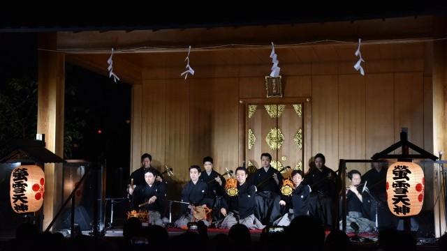 Kagurazaka Street stage O-edo Tour, 12 -13 November 2016. Photo © 渡部晋也. Courtesy of Tokyo Metropolitan Government.