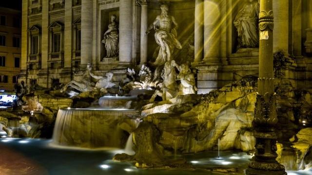 Fontana di Trevi by Night  Photo © Luca Serazzi, Courtesy of the City of Rome
