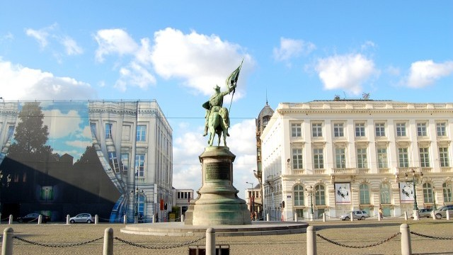 Place Royal, Brussels.  Photo © Catherine Dardenne; courtesy of City of  Brussels