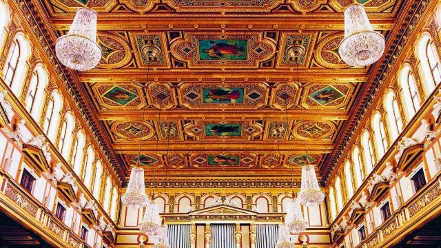 Musikvereinssaal Großer Saal. Courtesy of City of Vienna