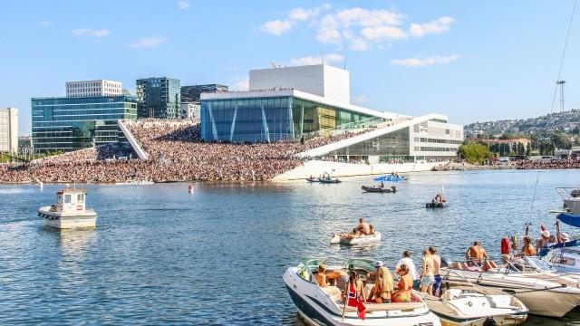 Oslo Opera House Image courtesy of Visit Oslo © Thomas Zdrankowski