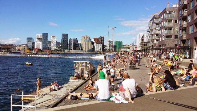 Sorenga Image courtesy of Visit Oslo © Anne Sofie Bjorge