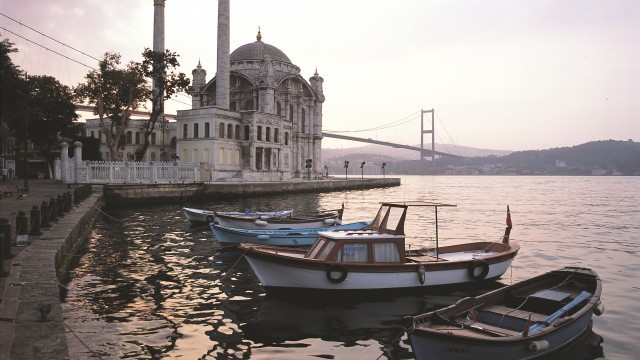 Ortakoy Mosque Courtesy of Istanbul Directorate of Culture and Tourism