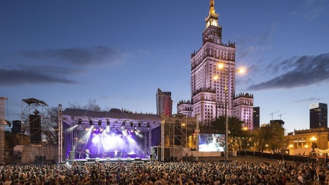 Palace of Culture and Science Photo © Marcin Czechowicz, Courtesy of City of Warsaw