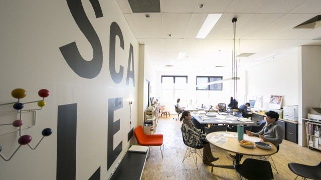 Scale. Oxford Street Creative Spaces. Photo © Jamie Williams. Courtesy of City of Sydney.