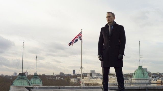 Daniel Craig as Bond in Skyfall Photo © Sony/Eon/MGM