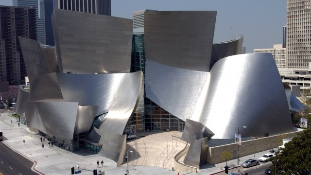 Walt Disney Concert Hall Photo © Henry Salazar. Courtesy of County of Los Angeles