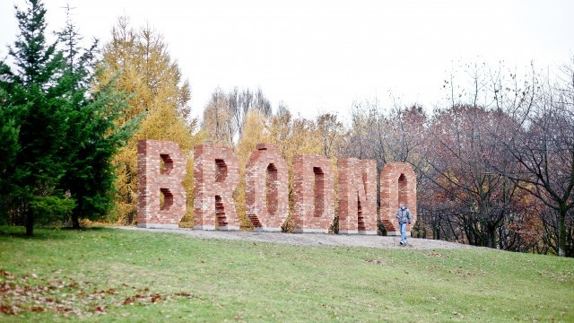Brodno by Jens Haaning. Brodno Sculpture Park. Courtesy of City of Warsaw.