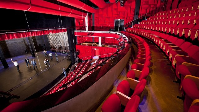 Interior of Soweto theatre