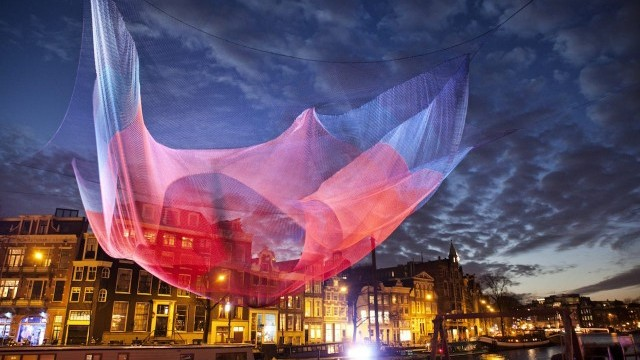 Amsterdam Light Festival Courtesy of City of Amsterdam