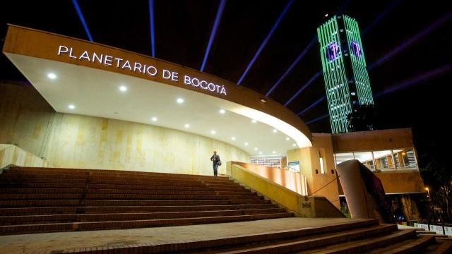Planetario de Bogotá Photo © Carlos Lema. Courtesy of Secretary Office of Culture, Leisure and Sport, City of Bogotá