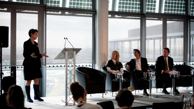 Diane Coyle shares her views at the 2015 Summit