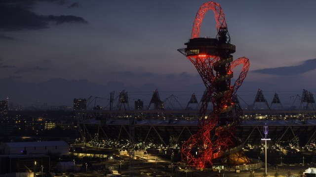 The ArcelorMittal Orbit, a unique fusion of art, architecture and engineering, conceived by Anish Kapoor/Cecil Balmond and funded by ArcelorMittal to provide an iconic new addition to London's skyline Photo © London Legacy Development Corporation