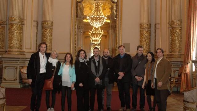 Delegates at Teatro Colón