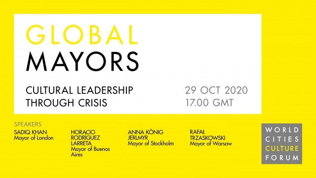 Global Mayors: Cultural Leadership Through Crisis